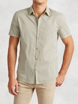 John Varvatos Cotton Short Sleeve Shirt