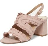 Dorothy Perkins Womens Blush 'Serenity' Ruffle Sandals- Pink
