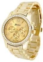 Geneva Platinum Women's Wristwatch Gold