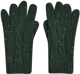 Jack Wills Belfair Cable Nep Gloves