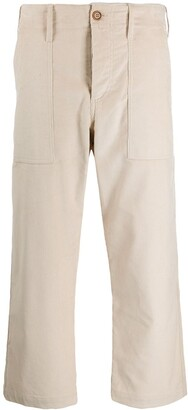 Jejia Cropped Straight Leg Trousers