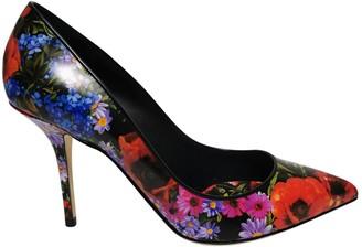 Dolce & Gabbana Multicolour Leather Heels
