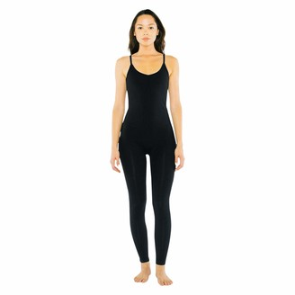 American Apparel Women's Cotton Spandex Sleeveless Unitard