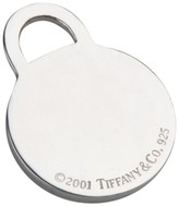 Tiffany & Co. 925 Sterling Silver Round Tag Pendant