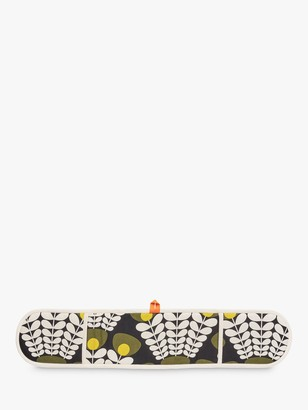 Orla Kiely Flower Stem Double Oven Glove, Green/Multi