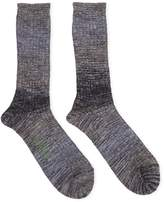 Anonymous Ism GO Hemp Splash Grey Socks - Grey