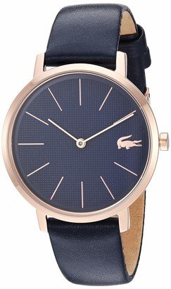 Lacoste Women's Gold Quartz Watch with Leather Strap