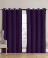 """Victoria Classics Neil Blackout Grommet 52"""" x 90"""" Curtain Panel"""