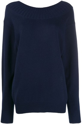 Chloé Cutout Back Sweater