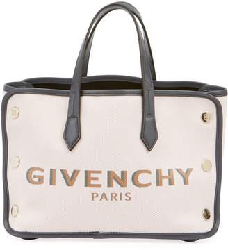 Givenchy Bond Mini Canvas Logo Tote Bag