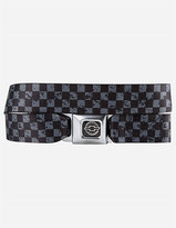 BUCKLE-DOWN Chevy Weathered Checker Buckle Belt