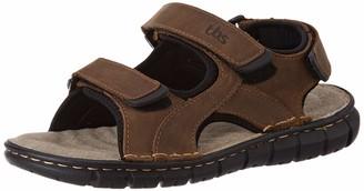 TBS Men's Strapss Ankle Strap Sandals