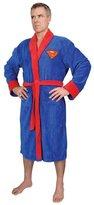 Superman Men's Fleece Bath Robe