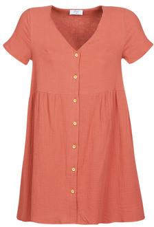 Betty London MARDI women's Dress in Brown