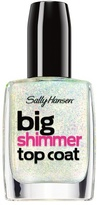 Sally Hansen Big Top Coat Treatment Shimmer - Twinkle Snows