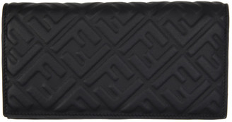 Fendi Black Forever Continental Wallet