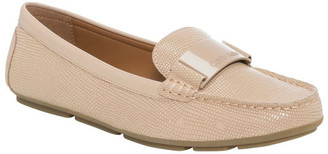 Calvin Klein Lisette Desert Sand Lizard Loafer
