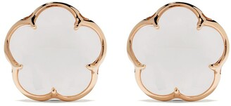 Pasquale Bruni 18kt rose gold quartz Bon Ton earrings