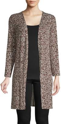 Style&Co. Style & Co. Petite Printed Open-Front Cardigan