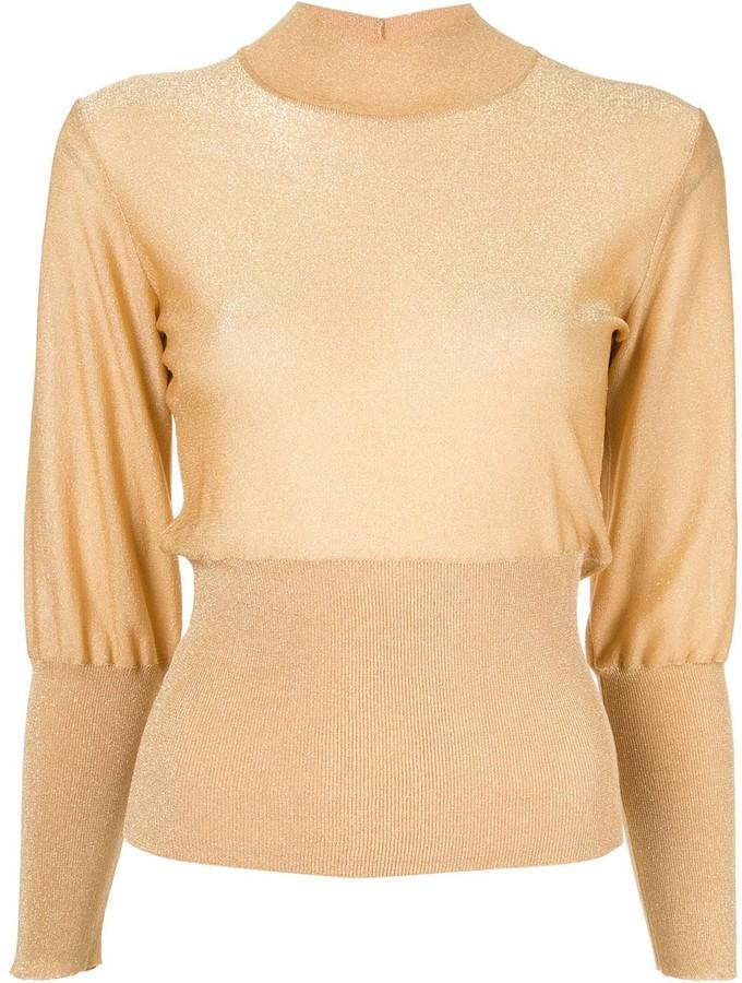 Emilio Pucci lurex sweater
