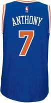 adidas Men's Carmelo Anthony New York Knicks Swingman Jersey