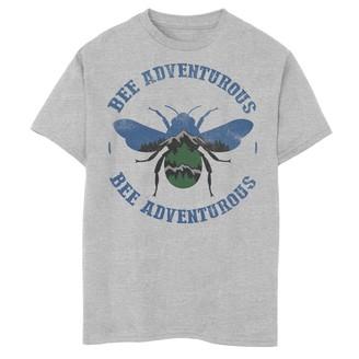 Fifth Sun Boys 8-20 Bee Adventurous Nature Fill Silhouette Graphic Tee