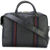 Paul Smith contrast stripe briefcase