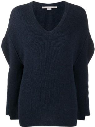Stella McCartney knitted V-neck jumper