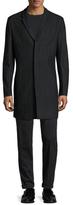 Antony Morato Solid Notch Lapel Top Coat