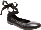 Steve Madden Women's Meow Ankle-Tie Flat