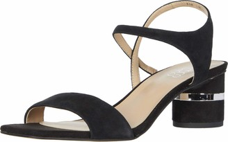 Franco Sarto womens Melody Sandal Black 6.5 M