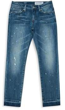AG Adriano Goldschmied kids Girl's The Sierra Novelty Hem Jeans