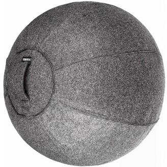 Stability Ball Chair Bintiva Seat Color: Dark Gray