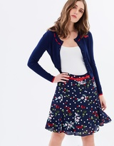 Review Cherry Floral Skirt