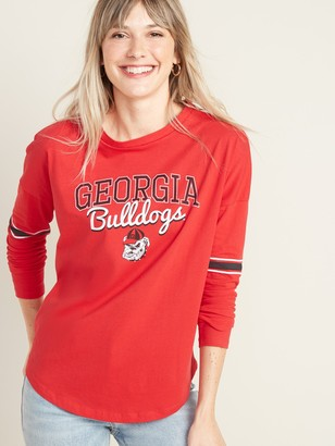 Old Navy University of Georgia Bulldogs Long-Sleeve Tee for Women