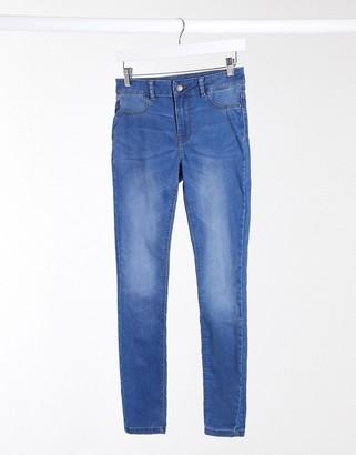 JDY nikki regular fit jegging jeans in light blue