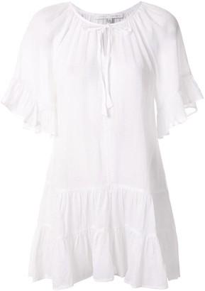 Pour Les Femmes Bell Sleeve Short Dress