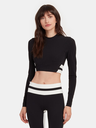 Vaara Orie Long Sleeve Crop Top