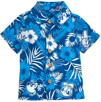 Disney Mickey Mouse and Friends Aloha Shirt for Baby Hawaii