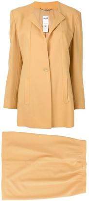 Celine Pre-Owned setup suit jacket skirt