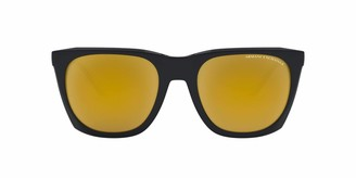 A|X Armani Exchange AX4085SF Asian Fit Square Sunglasses