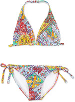 Ralph Lauren Paisley Two-Piece Swimsuit