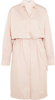 Jil Sander Cotton Shirt Dress - Pastel pink