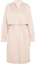 Jil Sander Cotton Shirt Dress - Pastel pink