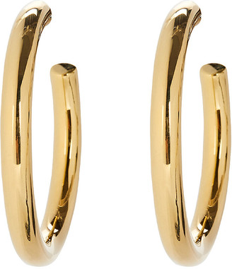ela rae Vermeil Hoop Earrings