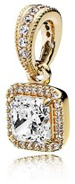 Pandora Pendant - 14K Gold & Cubic Zirconia Timeless Elegance, Moments Collection