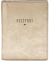 Fossil Travel RFID Leather Passport Holder