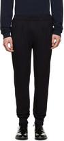 Paul Smith Navy Wool & Silk Trousers