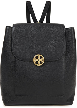 Tory Burch Chelsea Pebbled-leather Backpack