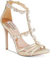 Badgley Mischka Thelma II Strappy Evening Sandals
